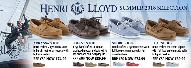 Henri Lloyd Footwear
