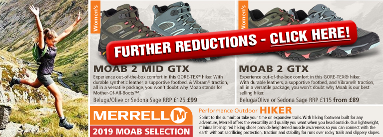Merrell Moab Women's Walking Boots