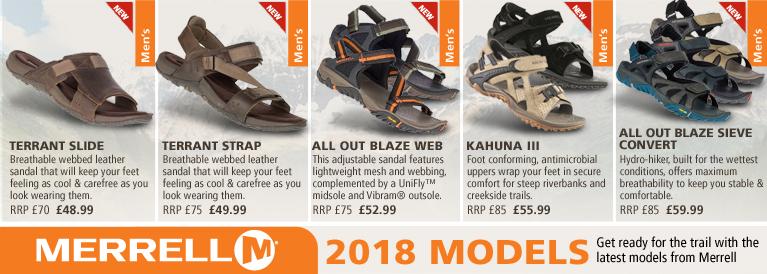 Merrell New Sandals for 2016