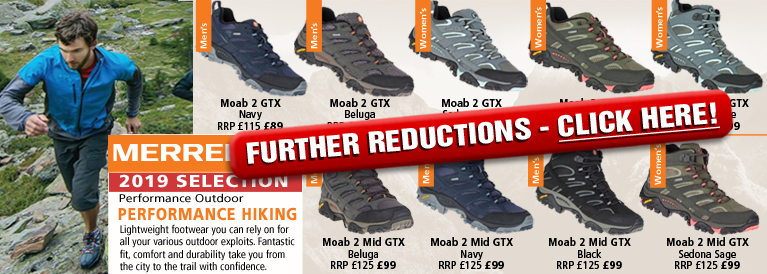 Merrell Performance Hiking 2018 Selection