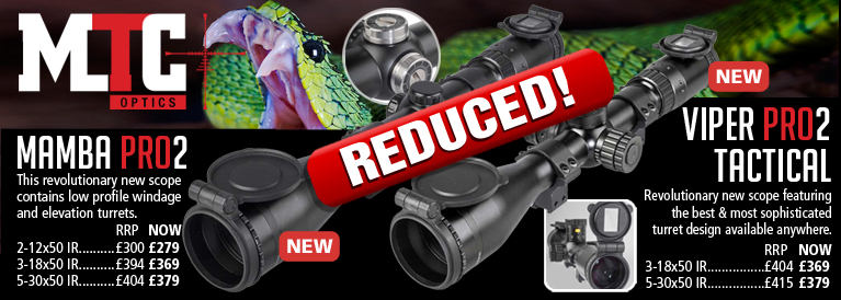 MTC Optics Mamba Pro and Viper Pro Riflescopes