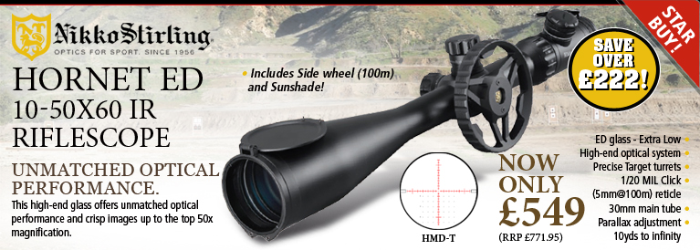Nikko Stirling Hornet ED Riflescope