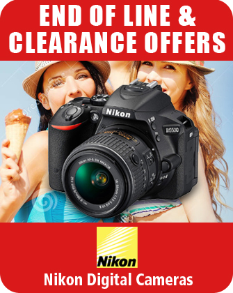 Nikon Digital Cameras End of Line Clearance