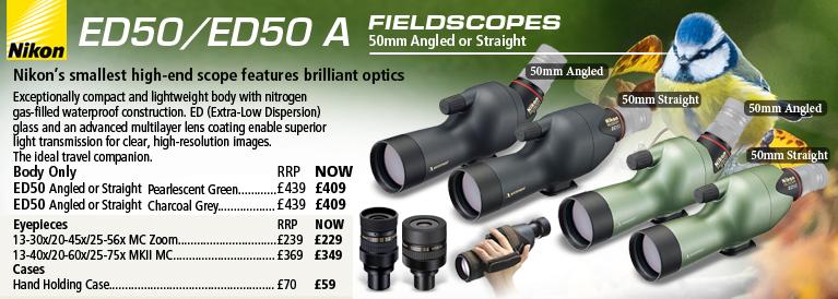 Nikon ED50 50mm Fieldscopes