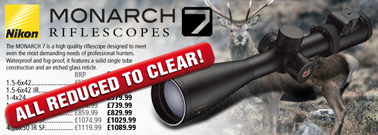 Nikon Monarch 7 Riflescopes