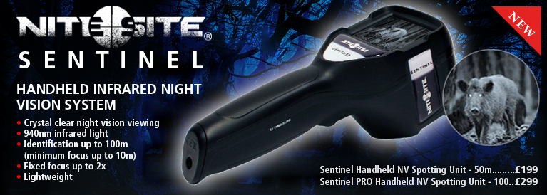 NiteSite Sentinal Handheld NV Spotting Unit