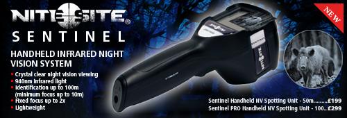 NiteSite Sentinal Handheld NV Spotting Unit