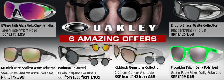 Oakley 6 Amazing Offers