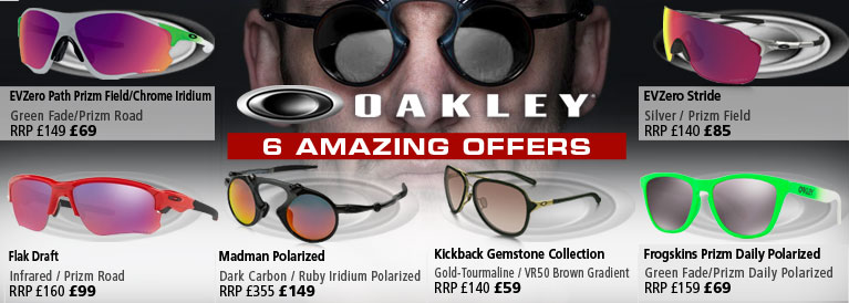 Oakley 6 Amazing Offers