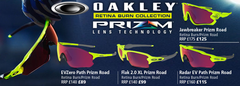 Oakley Prizm Retina Burn Sunglasses