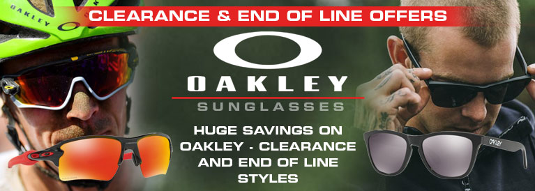 Oakley Clearance and End of Line Styles