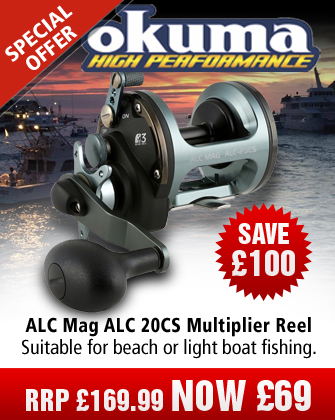 Okuma ALC Mag ALC 20CS Multiplier Reel