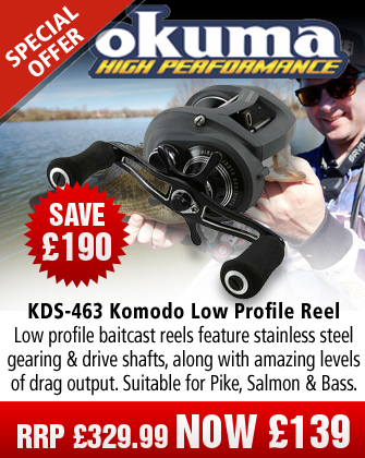 Okuma KDS-463LX Komodo Low Profile Reel