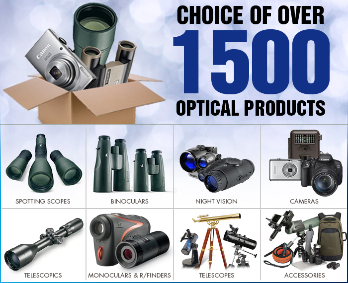 Choice of Over 1500 Optical Products