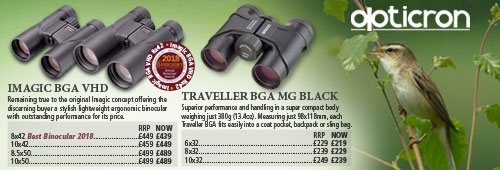 Opticron Imagic BGA VHD and Traveller BGA MG