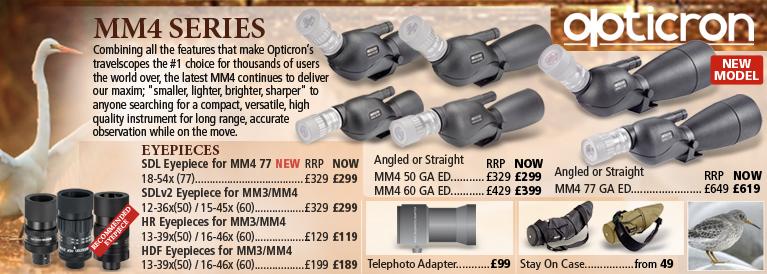 Opticron MM4 Spotting Scopes