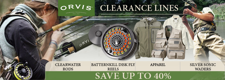 Orvis Clearance Lines