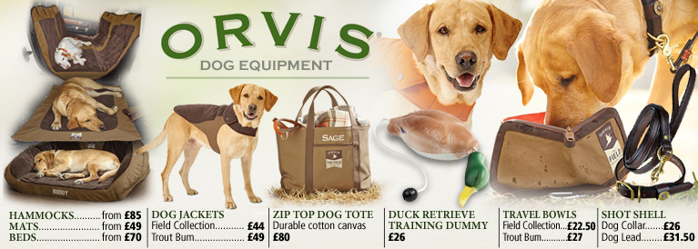 Orvis Dog Equipment