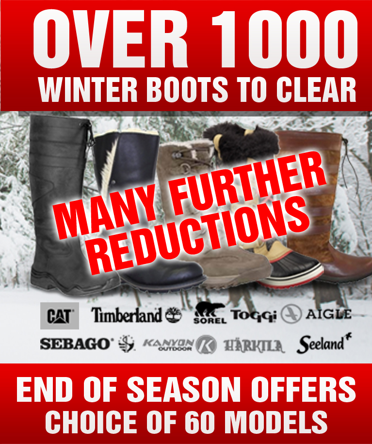 Over 1000 Winter Boots to Clear