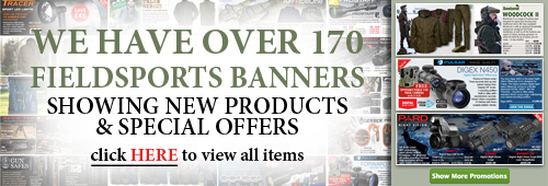 Over 120 Fieldsport Special Offer Banners