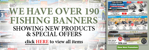 Over 190 Fishing Special Offer Banners