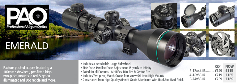 PAO Emerald Riflescopes