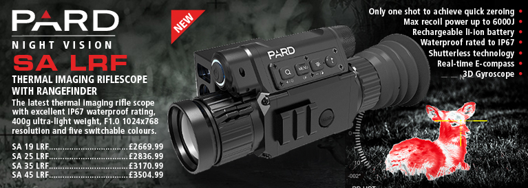PARD SA LRF Thermal Imaging Rifle Scopes with Range Finder