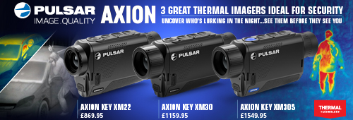 Pulsar Axion Thermal Monoculars for Security