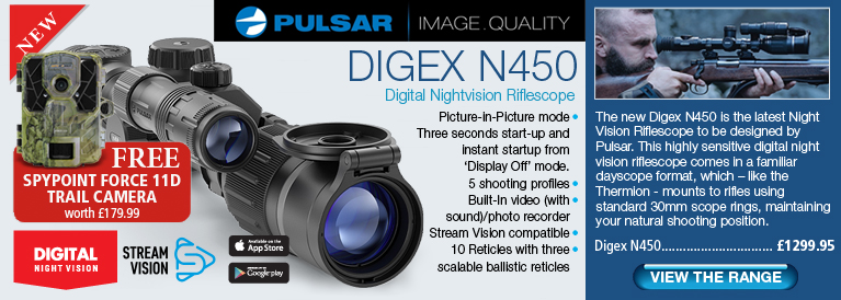 Pulsar Digex N450 Digital Nightvision Rifle Scope