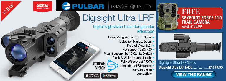 Pulsar Digisight Ultra LRF N450 Riflescope