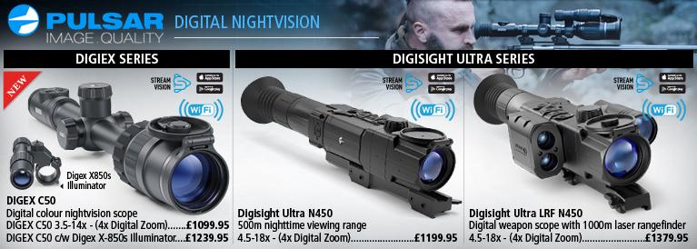Pulsar Digital Night vision