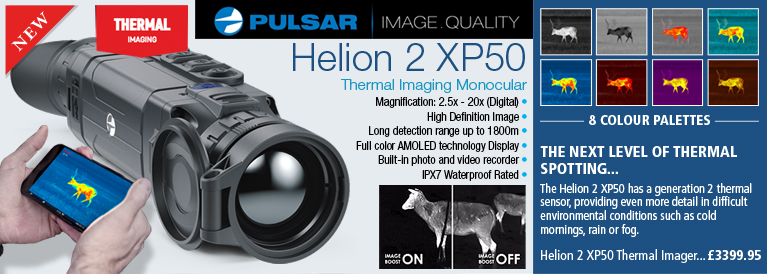 Pulsar Helion 2 XP50 Thermal Imager