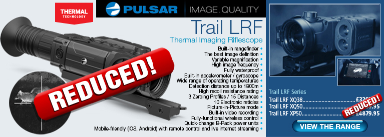 Pulsar Trail LRF Night Vision