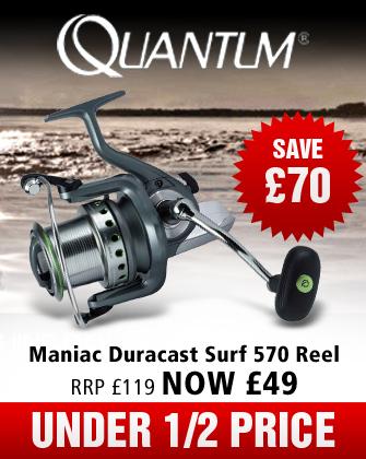 Quantum Duracast Surf 570 Reels