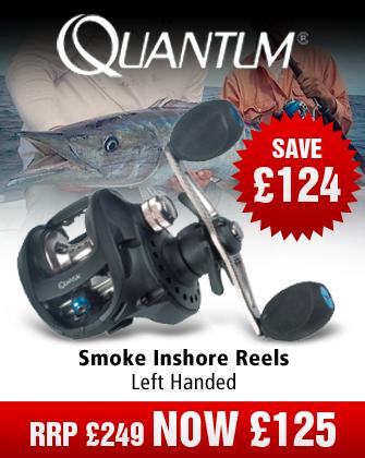 Quantum SL10HPTSA Smoke Inshore Reel - Left Hand