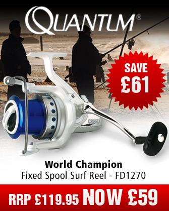 Quantum World Champion Fixed Spool Surf Reel - FD1270