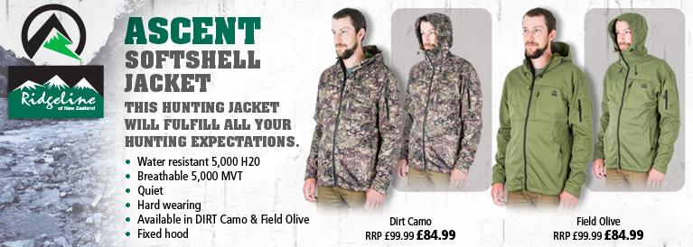 Ridgeline Ascent Softshell Jacket