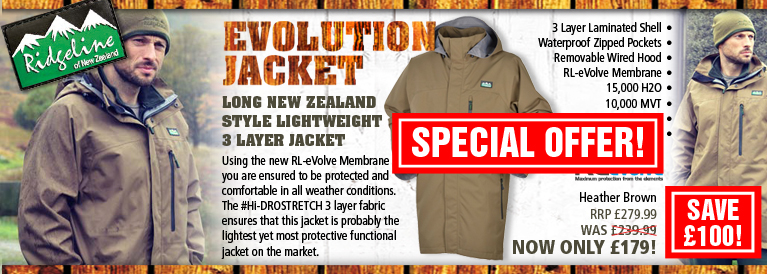 Ridgeline Evolution Jacket Black Friday Offer