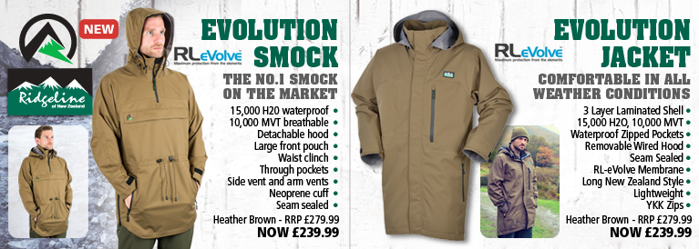 Ridgeline Evolution Smock and Evolution Jacket