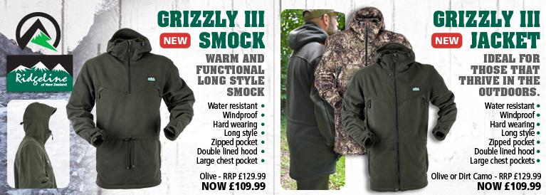 Ridgeline Grizzly III Smock and Grizzly III Jacket