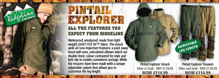 Ridgeline Pintail Explorer Series