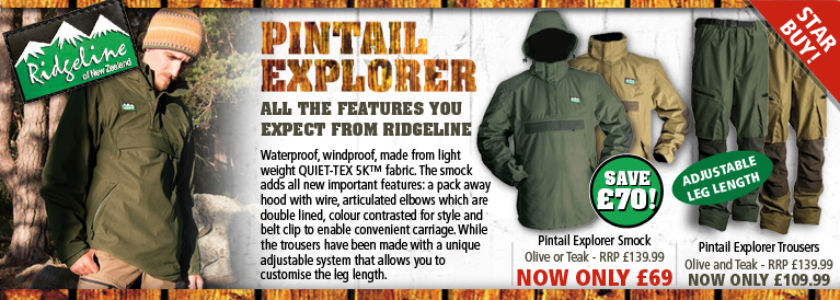 Ridgeline Pintail Explorer Series