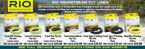 Rio Mainstream Fly Lines