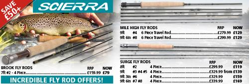 Scierra Fly Rod Special Offers