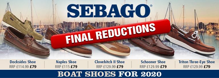 Sebago Boat Shoes for 2017