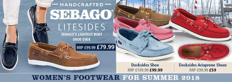 Sebago Womens Footwear