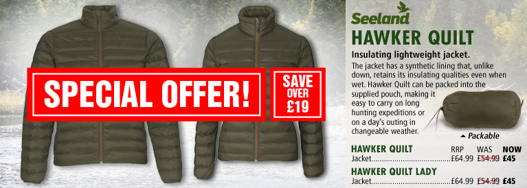 Seeland Hawker Quilted Series Black Friday Offer