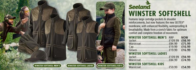 Seeland Winster Softshell Series