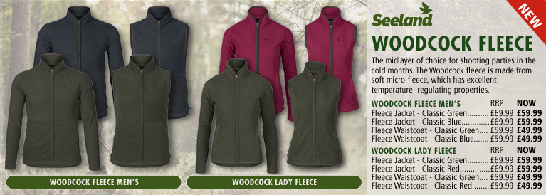 Seeland Woodcock Fleece Series