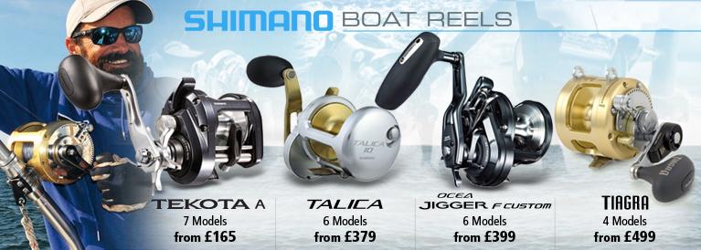 Shimano Boat Reels